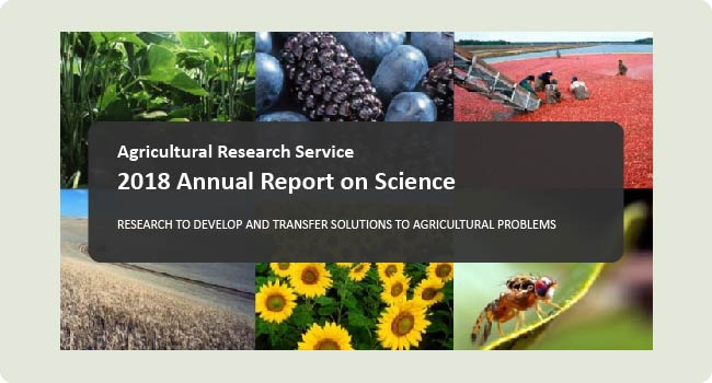 2018 ARS Annual Report on Science