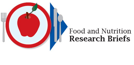 ARS Food and Nutrition Research Briefs Issued