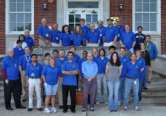 Hydrology Lab staff, October 2010