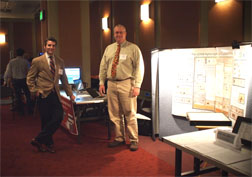 Drs. Buffington and Gates in the exhibition hall for Digifair 2012