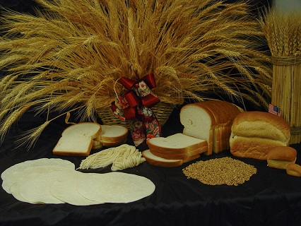 Food products produced and researched for grain quality.