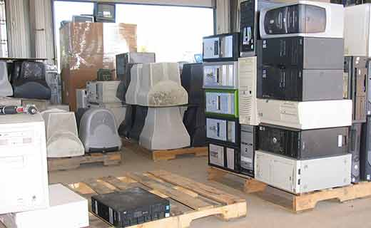 Our May E-rase you E-waste event collected more than 23,000 lbs of obsolete electronics for recycling. The event, now in its 12th year, has collected more than 400,000 pounds of e-waste that otherwise would have gone into local landfills