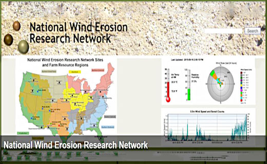 The National Wind Erosion Research Network was established in 2014 as a collaborative effort led by the US Department of Agriculture (USDA) Long Term Agro-ecological Research (LTAR) network and the Bureau of Land Management (BLM).
