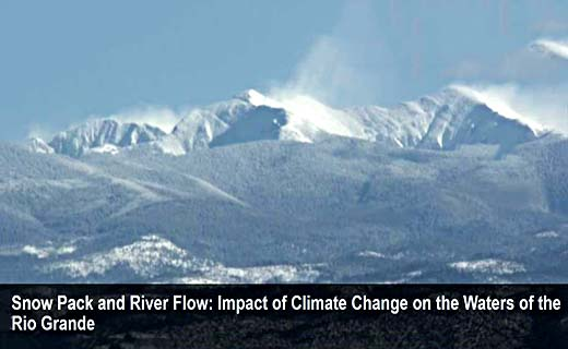 Dr. Emile Elias of the Southwest Climate Hub talks about how a changing climate will affect the flow of the Rio Grande in Southern Colorado and Northern New Mexico.