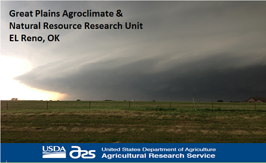 Great Plains Agroclimate and Natural Resource Research Unit Grazinglands Research Laboratory EL Reno, Oklahoma 73036