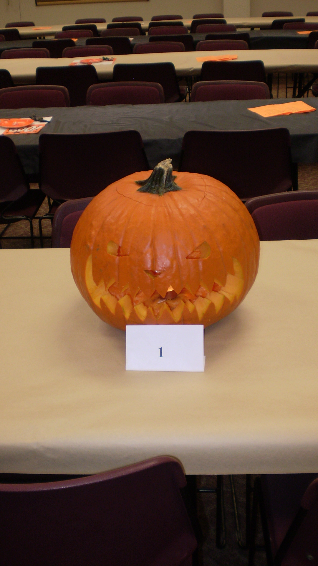 2nd Place Pumpkin