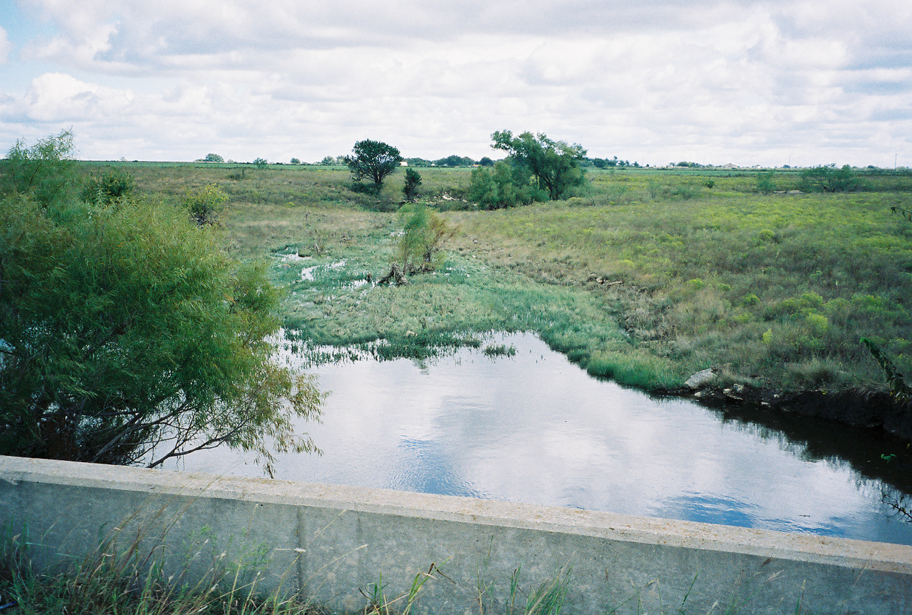 Landscape of watershed site