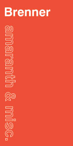 Brenner Curatorial logo
