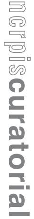 NCRPIS Curatorial logo