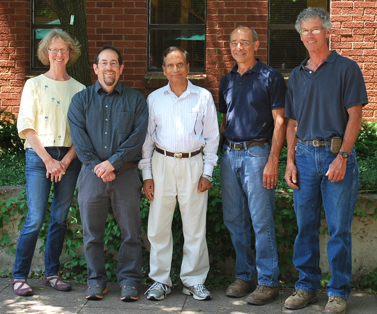 Soybean Genetics and Breeding Lab Personnel
