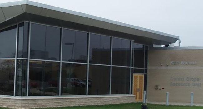 image of new building for Cereal Crops Research in November of 2006