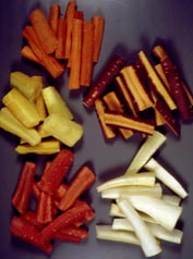 Carrot pigment variation