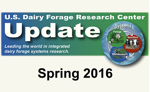 View an update on U.S. Dairy Forage Research Center research, awards, and staff changes.
