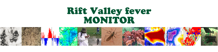 Rift Valley Fever Monitor: Climate and Disease Connections