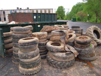 Tires, photo Glen Welch