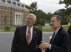 Steny Hoyer and Joseph Spence