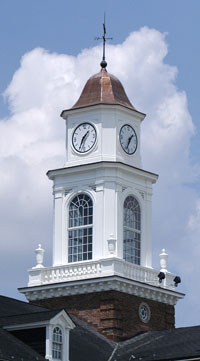 Clocktower Atop Administration Building
