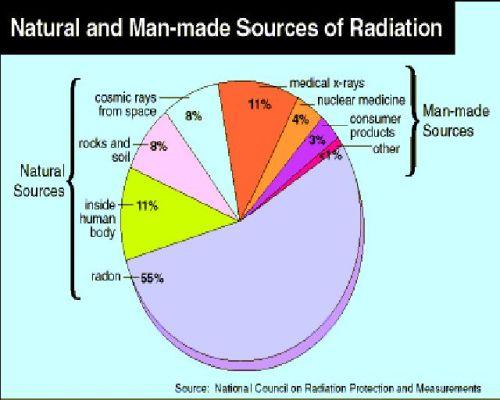 Radiation Source Pie Chart