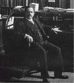 Photo: Portrait of Wilber Atwater, ca. 1900