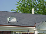 Recycled Polymer Roof Shingles