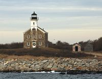 Plum Island Lighthouse and Shoreline