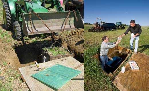 Laboratory and field experimental studies are done to monitor and improve ground and surface water quality