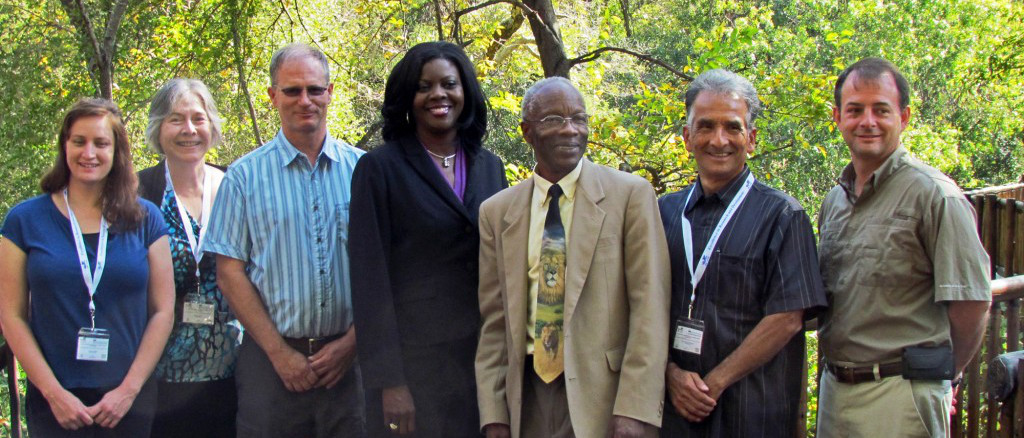 ARS Administrator Dr. Chavonda Jacobs-Young meets with ARS Scientists and International Partners in South Africa.