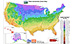 Plant Hardiness Zone map.