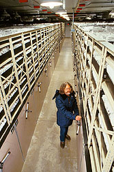 The National Seed Storage Laboratory preserves more than 1 million samples of plant germplasm.