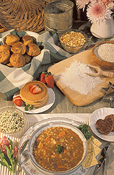 Photo: A wide variety of foods can be made with barley. Link to photo information