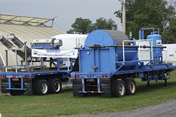 A mobile system for helping dairy farmers make better use of the phosphorous in cow manure