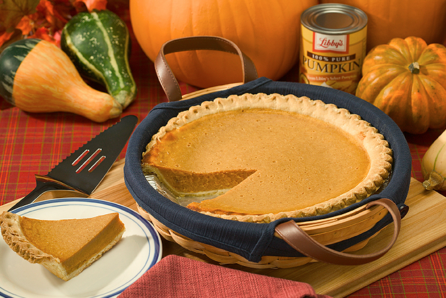 Pumpkin pie and various squashes