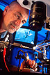 Preparing a sawfly antenna for GC-EAD analysis