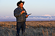 Research recording sage grouse numbers
