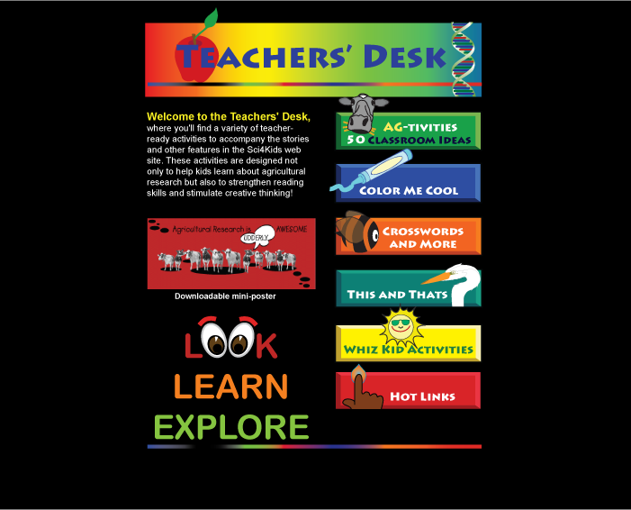 Teacher's Desk Home Page