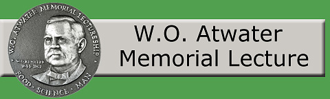 W.O. Atwater Memorial Lecture logo