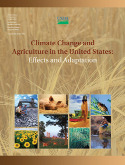 Climate Change and Agriculture in the United States: Click here to view publication online (pdf file).