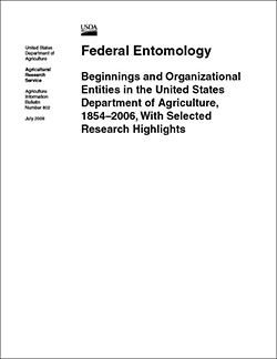 Federal Entomology Cover: Click here to view publication online (pdf file).