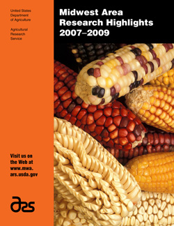 Cover with photo of unusually colored and shaped maize from Latin America: Click here to view publication online (pdf file).