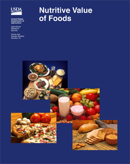Nutritive Value of Foods publication: Click here to view publication online (pdf file).