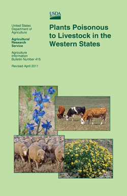 Plants Poisonous to Livestock in the Western States: Click here to view publication online (pdf file).