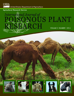 The International Journal of Poisonous Plant Research: Click here to view publication online (pdf file).