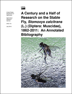 A Century and a Half of Research on the Stable Fly publication: Click here to view publication online (pdf file).