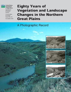 Cover, color photo of creek, three black and white inset photos from same vantage point (from pp. 6 and 7): Click here to view publication online (pdf file).