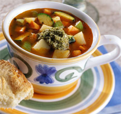 Photo: Italian potato soup.