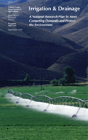 Cover, photo of irrigation system: Click here to view publication online (pdf file).