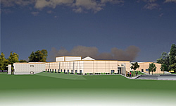 Artist's rendering of new Aberdeen facility.