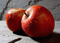 Photo: Two apples. Link to photo information