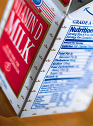 Photo: Carton of vitamin D rich milk. Link to photo information