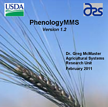 Photo: Cover of PhenologyMMS software.